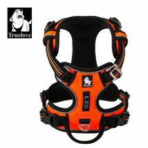 Dog Harness No Pull Reflective Breathable Adjustable Outdoor Nylon Safe ... - $23.62+