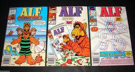 3 1990 Marvel Comics ALF 19, 26, 29 FINE Comic Books Alien Life Form - $11.69
