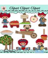 Raggedy Orchard Clip Art - $1.35