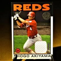 Shogo Akiyama 1986 Relic Card  - Topps 2021. Cincinnati Reds. - $5.00