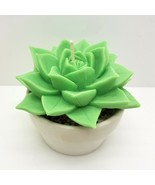 egbhouse, Natural Beeswax Soywax candle Succulent Candle S1 W/planter - $24.74