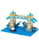 Puzzle 3d, Nanoblock London Tower Bridge Jigsaw Puzzle 3d, Over 460 Pieces - $24.98
