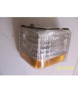 1990 1992 BROUGHAM LEFT CORNER MARKER SIGNAL TURN LIGHT USED OEM CRACK S... - $226.71