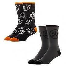 Naruto 2 Pack Crew Socks - $10.00