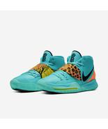 Nike Kyrie 6 Irving Aqua Animal Print Multi Color Mens Basketball 2020 NEW - $199.95