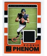 2017 Donruss Rookie Phenom #1 Mitchell Trubisky Jersey Relic Card Chicag... - $13.50