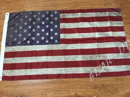 Rustic American Flag 3x5 Ft Banner Indoor Outdoor Man Cave - £10.89 GBP