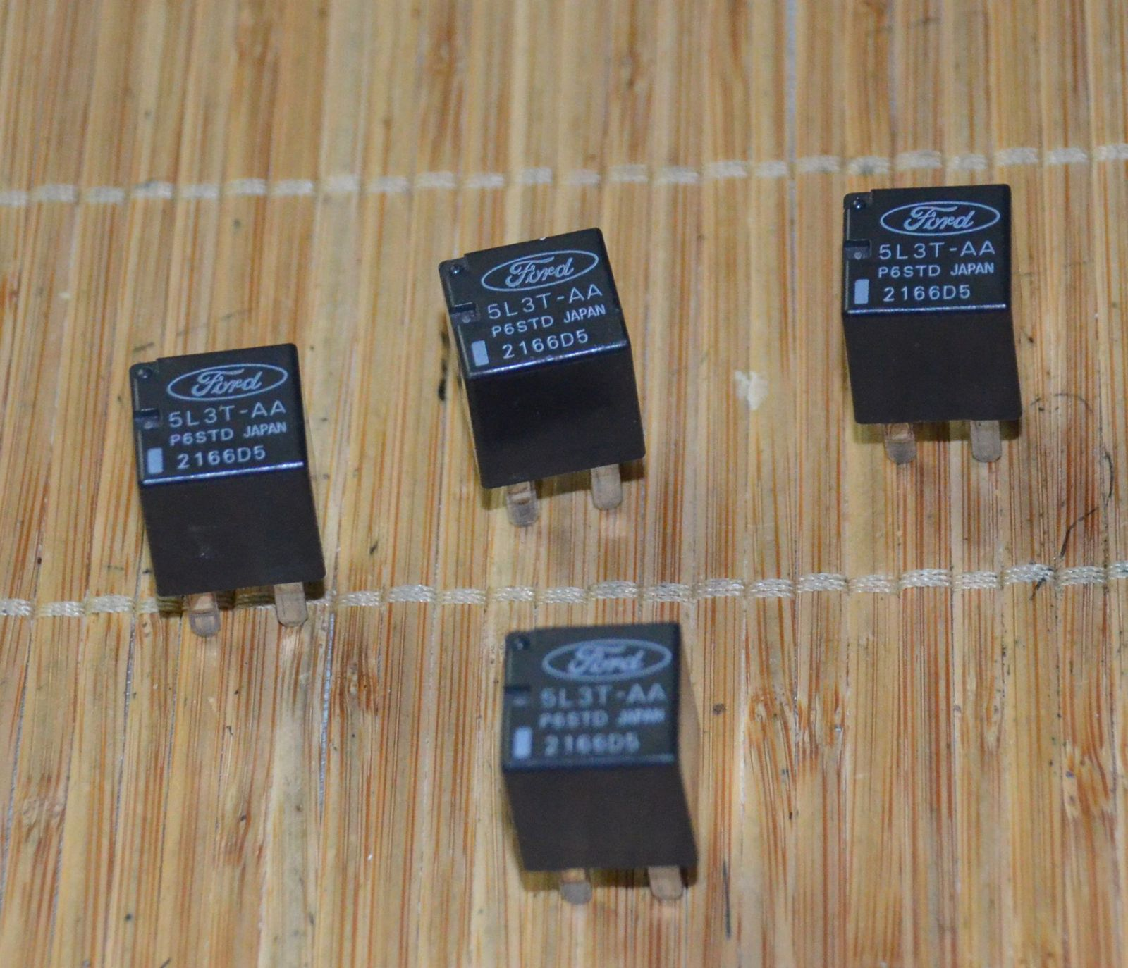 Primary image for Ford 5L3T-AA relays Utility Set of 4 Used Dimmer Lights Milan Fusion Used