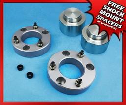 "2.5"" Front + 1"" Rear CNC Aluminum Lift Kit 07-20 Chevy Suburban 1500 6Lug Only - $126.50"