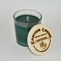 New Canyon Creek Candle Company 8oz Tumbler Luck Of The Irish Handmade! - $23.94