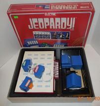 Vintage 1987 Electric Jeopardy quiz Game 100% Complete Pressman - $46.75