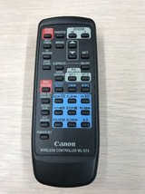 Canon WL-D74 Camcorder Wireless Remote Control Tested And Cleaned             P1 - $5.99