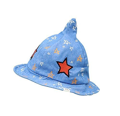 Cute Pure Cotton Comfortable Ventilate Children Cap/Kid Cap(Star)