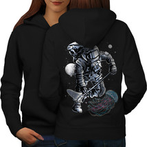 Space Astronaut Fashion Sweatshirt Hoody  Women Hoodie Back - $21.99+