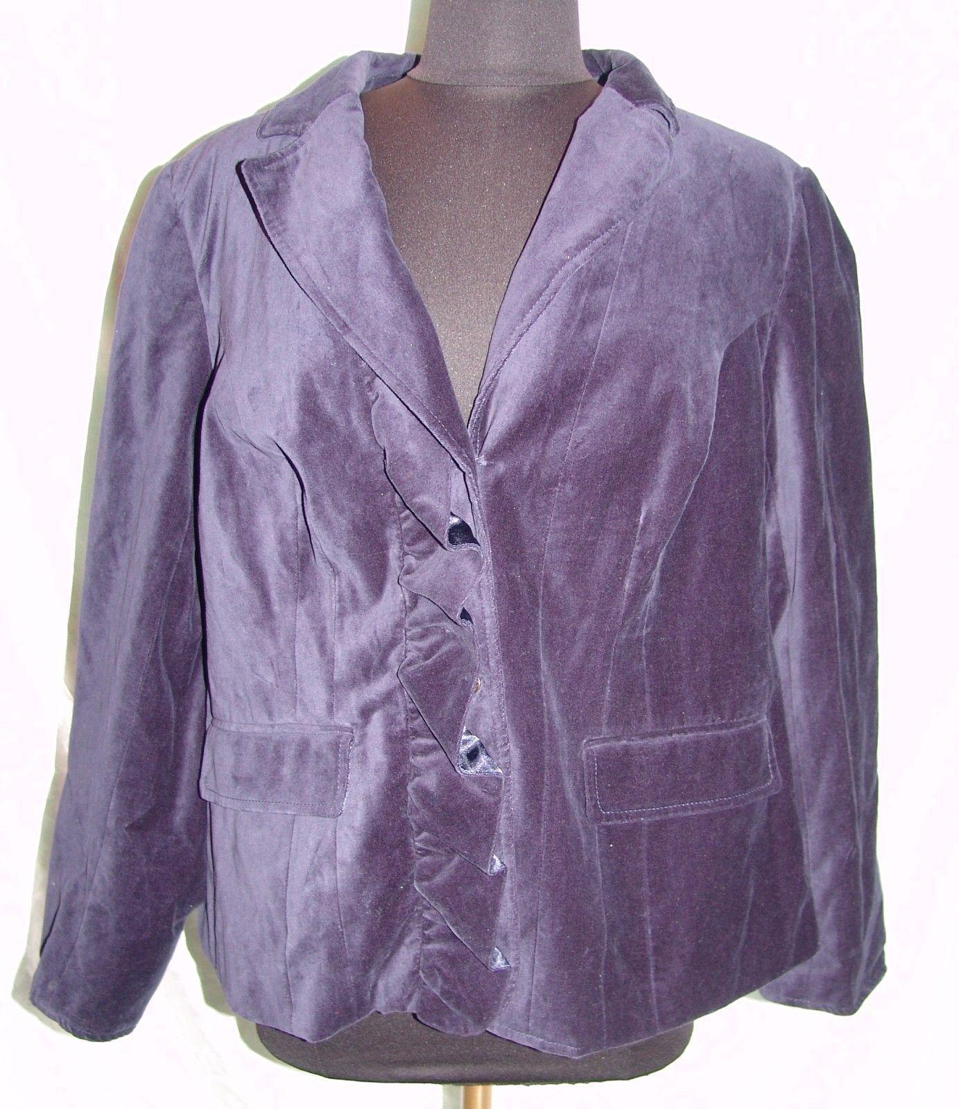 0dc0af28e2a79 Lane Bryant Sport Coat Sz 24 Plus Womens NWT and 16 similar items. 57
