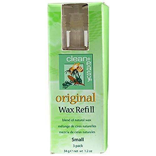 Clean + Easy Small Original Wax Refill- 3 pk