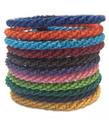 "The ""Twist"" Waxed Braid Weave Cord Thai Cotton Wristband Wristwear - $6.41"