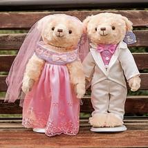 2 pcs lot 38cm lovely couple wedding teddy bear plush toys dolls stuffed toy kids baby thumb200