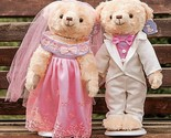 S lot 38cm lovely couple wedding teddy bear plush toys dolls stuffed toy kids baby thumb155 crop