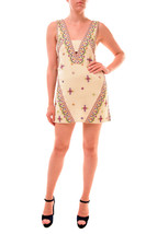 Free People Women's Never Been Embroidered Mini Dress Ivory Size RRP £12... - $110.80