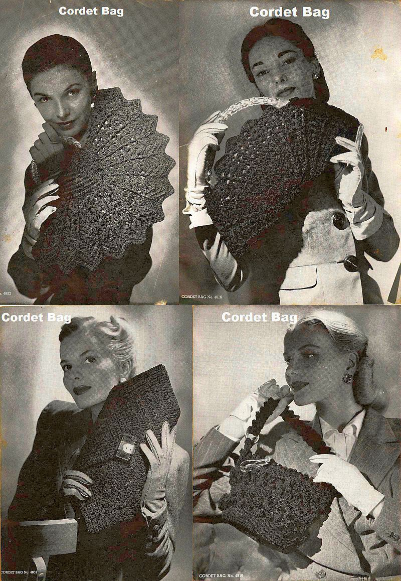Purse Panache 9 Designs Crochet Annie/'s PATTERN//INSTRUCTIONS//NEW