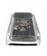 "Vintage Witchcraft Witches D1 Glass Square Ashtray 4"" x 3"" Smoking Cigar... - $12.82"