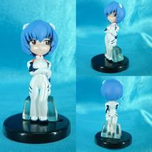 Bandai EVA Evangelion Torikore 2006 Gashapon Mini Figure Rei Ayanami A - $19.99