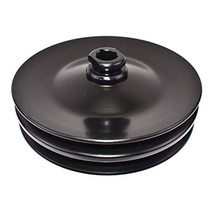 A-Team Performance Saginaw Power Steering Pump Double-Groove Steel Pulley Compat