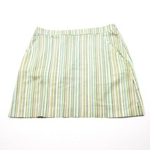 French Connection Cotton Striped Mini Skirt Size 8 Lightweight - $11.64