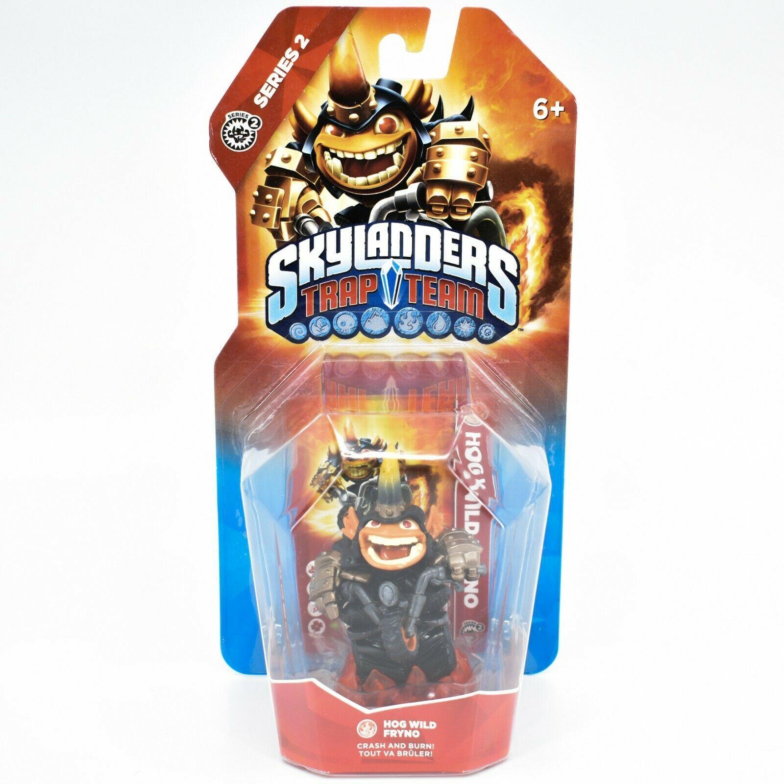 Activision Skylanders Trap Team Hog Wild Fryno Series 2 Fire Character