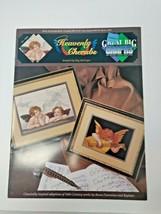 Leisure Arts Heavenly Cherubs 20055 Cross Stitch Booklet - $11.39