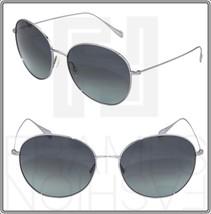 Oliver Peoples Blondell Silver Titanium Blue Polarized Sunglasses Ov 1102ST - $252.45
