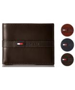 Tommy Hilfiger Men's Premium Leather Credit Card ID Wallet Billfold 31TL... - $23.99