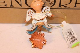 "Christmas Ornaments - WHOLESALE- Russ BERRIE- #41457- 3 ANGELS- ""ANTHONY""- New - $5.83"