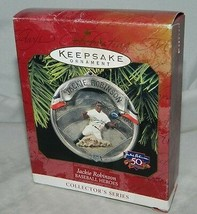 1997 Hallmark Keepsake Jackie Robinson Baseball Heros Collectors Xmas Or... - $15.84