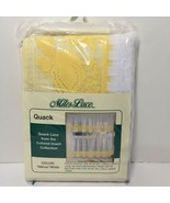 """Miles Lace Quack Two 30"""" x 36"""" Tiers 100% Polyester Ducks Cafe Tier Curt... - $14.50"""