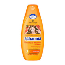 Schwarzkopf Schauma Fruit & Vitamin Shampoo XL 400ml-Made in Germany - $10.88