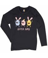 Easter King Women's Long Sleeve T-shirt Egg Tapping Happy Easter Jesus i... - $15.01+