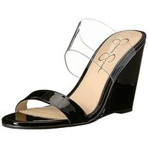 Jessica Simpson Women's WINSTY Sandal, Black Black 003, 8.5 M US - $48.31