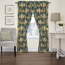 """WAVERLY Curtains for Bedroom - Sanctuary Rose 52"""" x 84"""" Decorative Double Panel  - $39.99"""