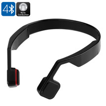 Bone Conduction Headphones - Bluetooth 4.0, 123dB, 200mAh Battery - $53.99