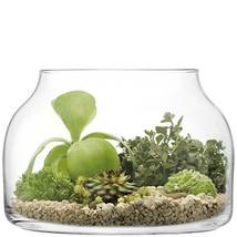 LSA International Plant Vase, Funnel Pot, H24cm, Clear - $85.08