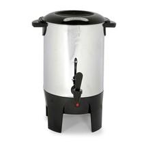 Better Chef Stainless Steel Coffeemaker Non-Drip Spigot (10-30 Cup) - $43.25