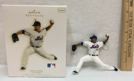 Johan Santana Baseball Player Hallmark Keepsake Ornament At The Ballpark... - $9.89
