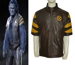 Beast X-Men Last Stand Hank Leather Jacket Costume - $69.29+
