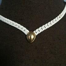 Vintage Monet Chain Statement Necklace - $17.82
