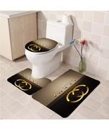 Hot Sale Gucci525 Toilet Set Anti Slip Good For Decoration Your Bathroom  - $20.09