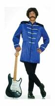 60's BRITISH EXPLOSION BLUE SGT PEPPER JACKET BEATLES ADULT HALLOWEEN CO... - £26.73 GBP