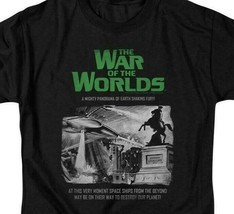 The War of the Worlds t-shirt Sci Fi retro 50s thriller graphic tee PAR539 image 2