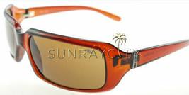 Bolle Envy Crystal Cognac TLB Dark Sunglasses 10341 - $98.01